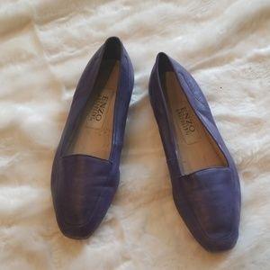 Vintage Enzo Angiolini Flats Purple Size 6M